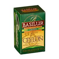 Basilur The Island of Tea Ceylon Green (20 tea bags)