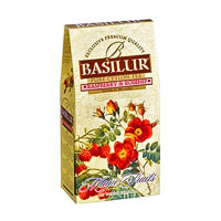Basilur Magic Fruits Raspberry and Rosehip Loose Leaf Tea 100 gm