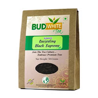 Budwhite Darjeeling Black Supreme Organic Tea 50 gm