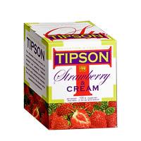 Tipson Strawberry & Cream Loose Leaf Tea 100 gm