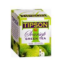 Tipson Soursop Green Loose Leaf Tea 100 gm