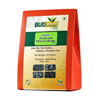 Budwhite Fruits and Flowers Combo Organic Loose Full-Leaf Tea 50 gm