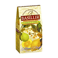 Basilur Magic Fruits Lemon and Lime Loose Leaf Tea 100 gm