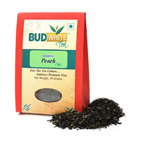 Budwhite Peach Organic Loose Full-Leaf Tea 50 gm