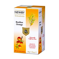 Newby Rooibos Orange (25 tea bags)