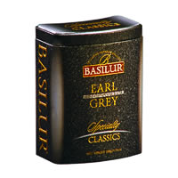 Basilur Specialty Classics Earl Grey Loose Tea 100 gm Caddy