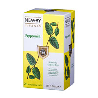 Newby Peppermint Tisanes (25 tea bags)