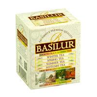 Basilur Four Seasons Assorted Tea Bags (10 tea bags)