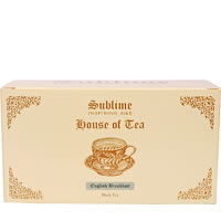 Sublime English Breakfast Tea (25 Pyramid tea bags)