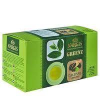 Nargis Greenz Darjeeling Organic Green Tea (25 tea bags)