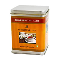 Rohini Premium Second Flush Tea, Loose Leaf 100 gm Caddy