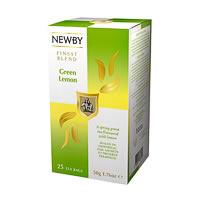 Newby Finest Blend Green Lemon Tea (25 tea bags)