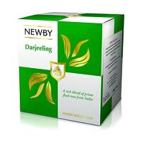 Newby Darjeeling Finest Loose Leaf Tea, 100 gm Carton