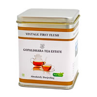 Gopaldhara Vintage First Flush Tea, Loose Leaf 50 gm Caddy