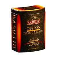 Basilur Specialty Classics Ceylon Orange Pekoe Loose Tea 100 gm Caddy