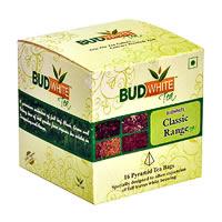 Budwhite Classic Tea Combo (16 Pyramid tea bags)