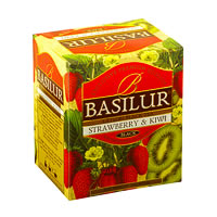 Basilur Magic Fruits Strawberry and Kiwi Tea (10 tea bags)