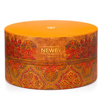 Newby Tisane Crown Assortment - Circular Luxury Gift Box (36 finest tea bags)