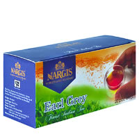 Nargis Earl Grey Loose Leaf Black Tea (20 pod bags)