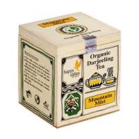 Happy Valley Organic Darjeeling Mountain Mist White Tea, Whole Leaf 25 gm