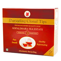 Gopaldhara Darjeeling Clonal Tips, Loose Leaf Tea 250 gm
