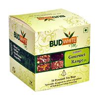 Budwhite Gourmet Tea Combo (16 Pyramid tea bags)