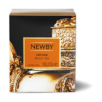 Newby Heritage Ceylon Loose Leaf Black Tea, 100 gm Carton