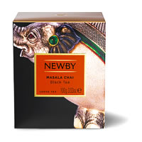 Newby Heritage Masala Chai Loose Leaf Tea, 100 gm Carton
