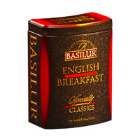Basilur Specialty Classics English Breakfast Loose Tea 100 gm Caddy