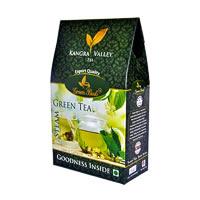 GreenBuds Kangra Steam Green Tea, Loose Leaf 125 gm
