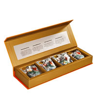 Happy Valley Organic Darjeeling Tea - Assorted Gift Pack (20 Pyramid tea bags)