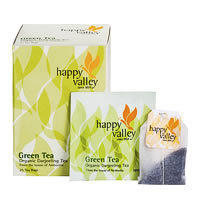 Happy Valley Organic Darjeeling Green Tea (25 tea bags)