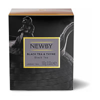 Newby Heritage Black Tea & Thyme Loose Leaf Tea, 100 gm Carton