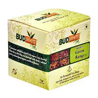 Budwhite Green Tea Combo (16 Pyramid tea bags)