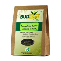 Budwhite Darjeeling Silver Needle White Tea Organic Loose 25 gm
