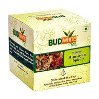 Budwhite Himalayan Spice Tea (20 Pyramid tea bags)