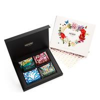 Newby From the Heart Silken Pyramids Selection - Gift Box (4x5 Pyramid tea ...