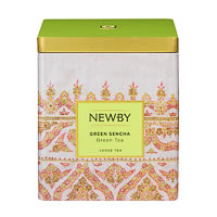 Newby Classic Green Sencha Loose Leaf Tea, 125 gm Caddy