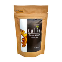 Tulir Peppy Ginger Black Tea, Loose Leaf 50 gm