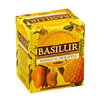 Basilur Magic Fruits Mango and Pineapple Tea (10 tea bags)