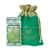 Octavius Whole Leaf Darjeeling Black Tea - Decorative Gift Jute Bag, 100 gm