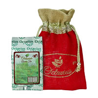 Octavius Whole Leaf Assam Black Tea - Decorative Gift Jute Bag, 100 gm
