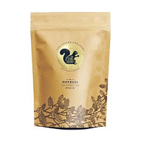 Flying Squirrel Deep Bliss Dark 100% Coffee, Whole Beans 250 gm