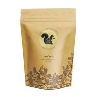 Flying Squirrel Cafe Chic Premium South Indian Coffee, Whole Beans 250 gm