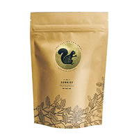 Flying Squirrel Sunkist Pulp Sun Dried Artisan Coffee, Medium Grind 250 gm
