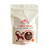 Coffico Amber Caffi 100% Pure Filter Coffee, Medium Grind 250 gm