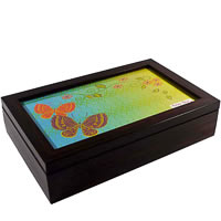 Twirly Tales Butterfly Series Tea Bag Organiser