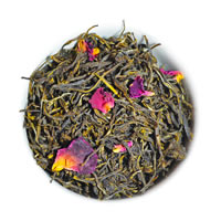 Organic Rose Green Tea, Loose Leaf 100 gm