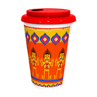 Kolorobia Colourful Ikat Cafe Mug