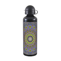 Kolorobia Moroccan Black Travel Sipper